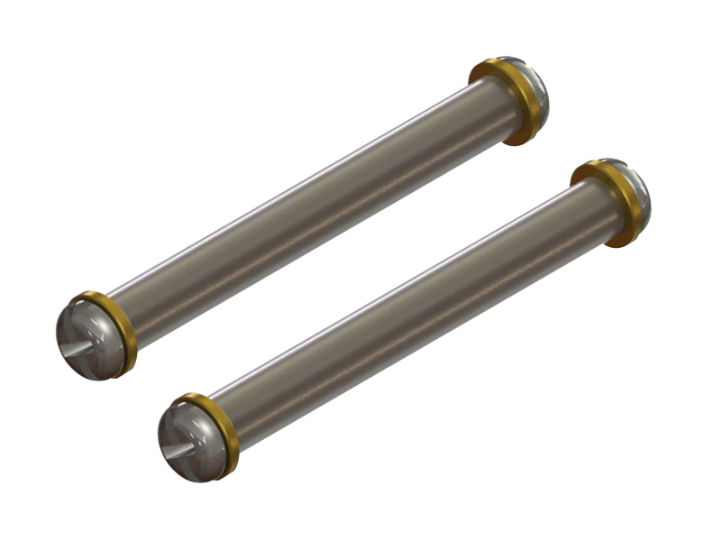 LX0923 - T-Rex 150 - Titanium Spindle Shaft, 2PC