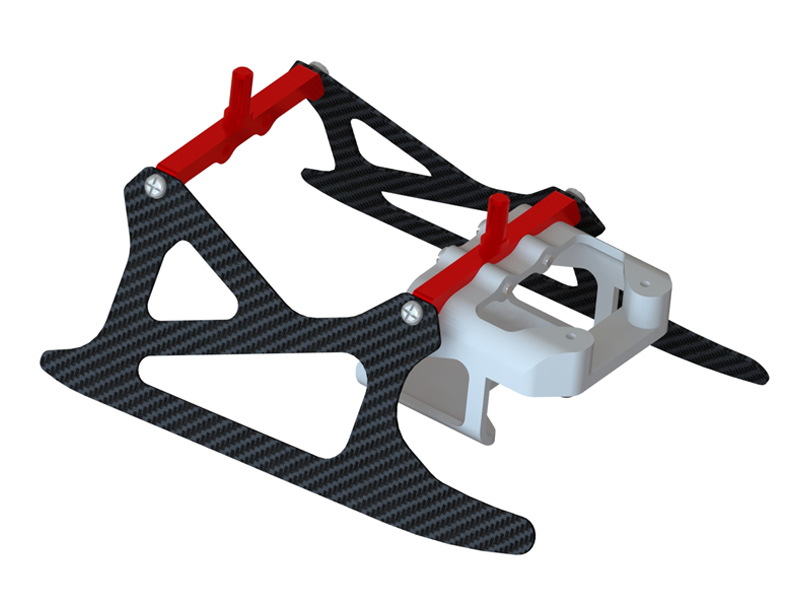 LX0983 - T 150 - Ultra Landing Gear - Red - Profile 1