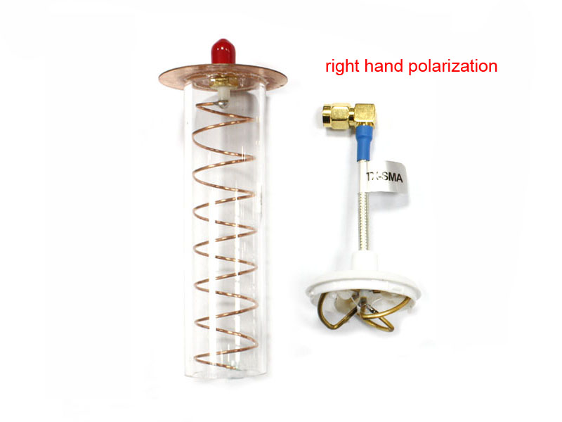 5.8G Helical Antenna (Right) for Receiver PR-SMA
