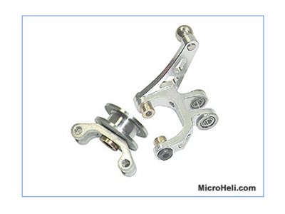 MH Dual Arm Bell Crank/Tail Pitch Slider Combo - Trex 450Pro