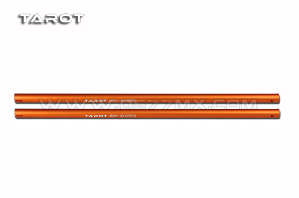 450 PRO/SPROT Tail Boom/ Orange TL45037-05