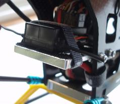 KDE Direct Receiver Mount Upgrade For the Align Trex 500