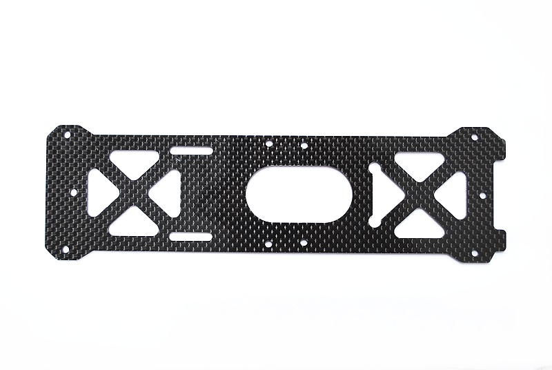 600PRO Carbon Bottom Plate/2mm (H60212 compatable)