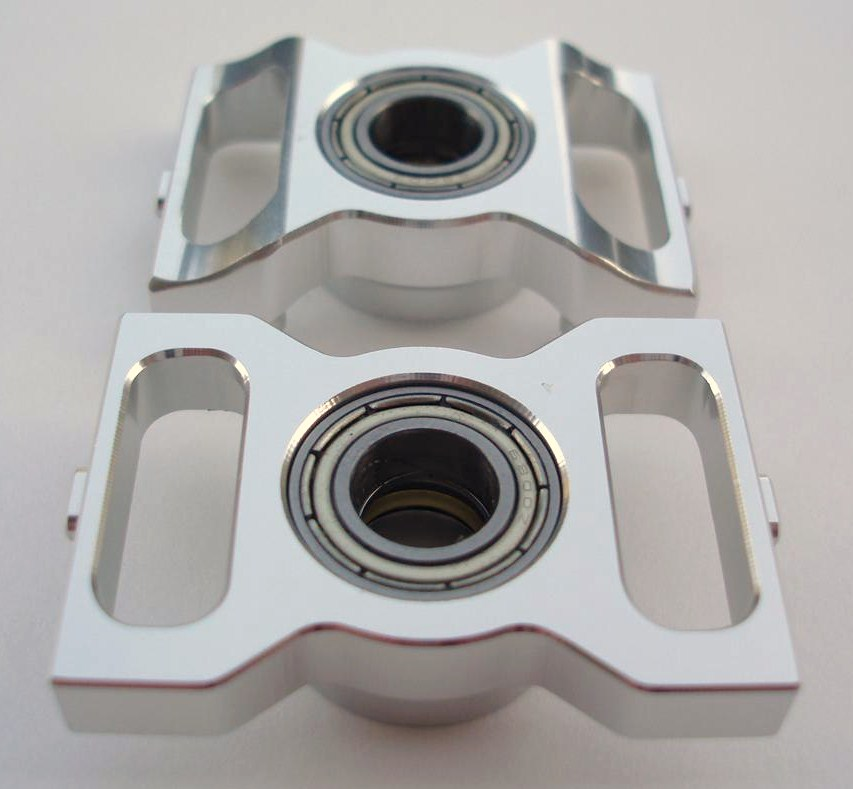 KDE Direct Thrusted Bearing Blocks For Align Trex 600Nitro