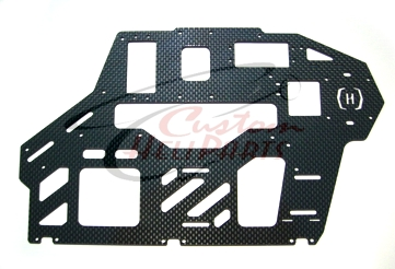 Custom Heli Parts - T-Rex 550 Carbon Fiber 2.0mm Frames