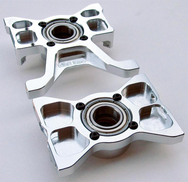 KDE Direct TREX 700DFC Thrusted Metal Bearing Block set