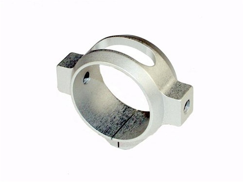 Quick UK T-Rex 700 3D Lightweight Tail Clamp - Silver