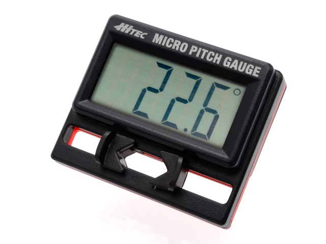 Hitec MICRO PITCH GAUGE ※小型機用