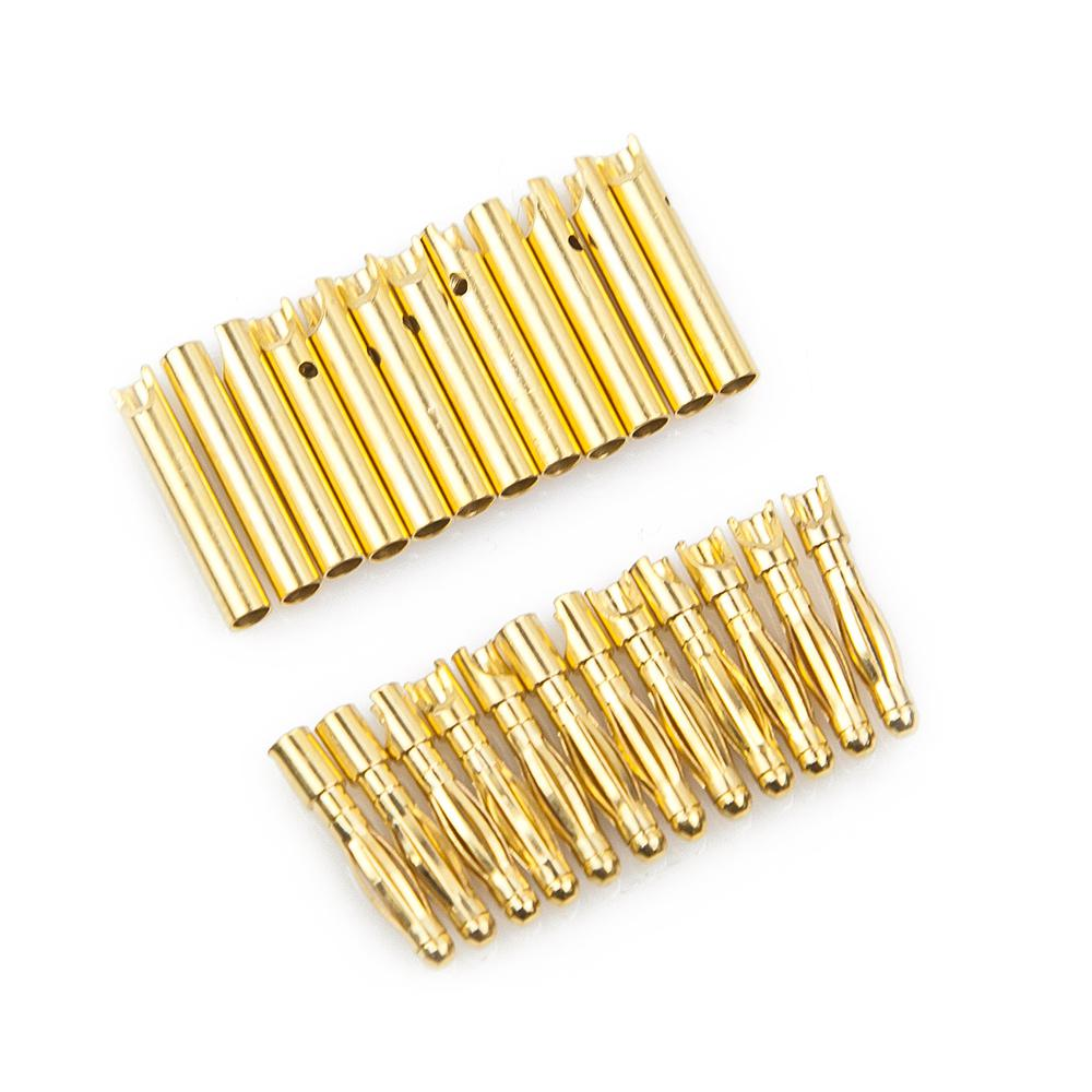 2mm Gold connectors(10pcs)