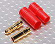 HXT 3.5mm Gold Connector w/ Protector (2pcs/set)