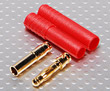 HXT 4mm Gold Connector w/ Protector (2pcs/set)