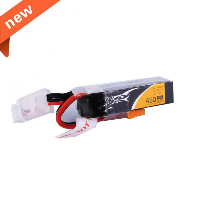 Gens Ace Tattu Lipo 3S 450mAh(75C) Long