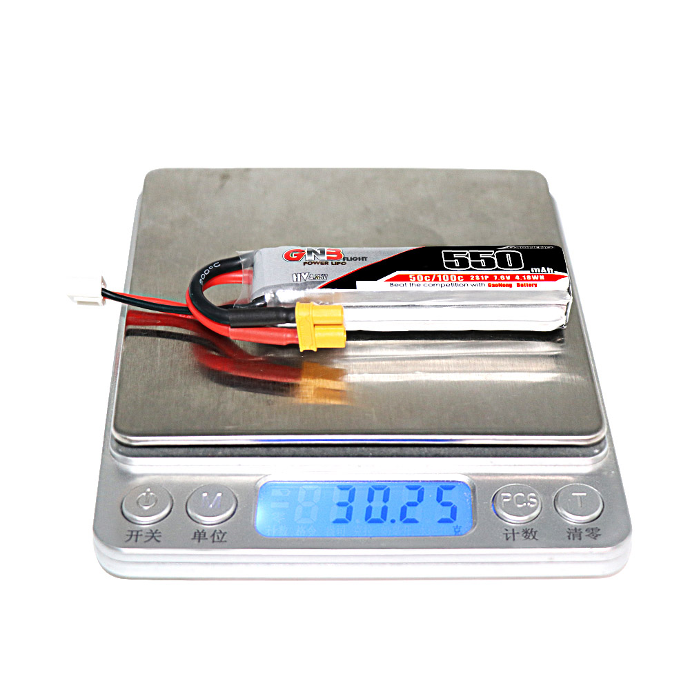 GAONENG HV Lipo Battery 2S 550mAh(50C) 2pack - ウインドウを閉じる