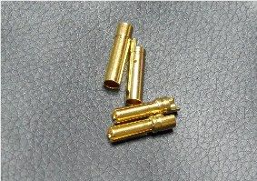 4mm Gold connectors(2pcs)