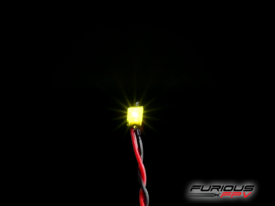 Furious FPV Mini Led for Tinywhoop - Yellow
