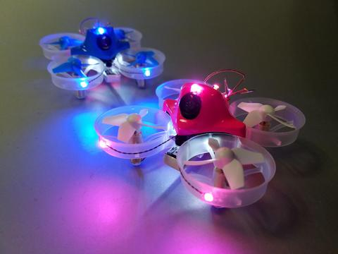4 LED Harness of Tiny Whoop LED - 2Red 2White