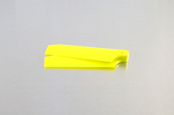 KBDD Extreme Edition T-Rex 250 Neon Tail Blades - Yellow