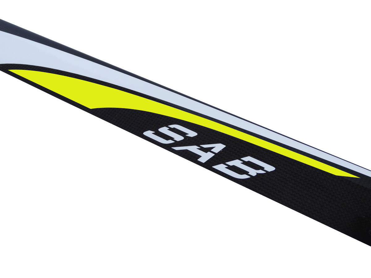 SAB 770mm Blackline carbon blades ( Yellow ) 2D-F3C