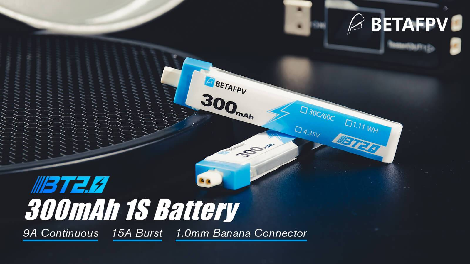 Beta FPV BT2.0 300mAh 1S 30C Battery