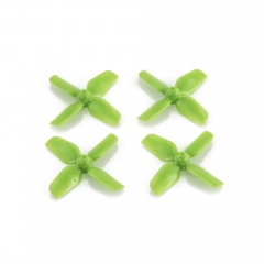 HQ Micro Whoop Prop 1.2X1.3X4 Green (2CW+2CCW)-ABS-1.0MM Shaft