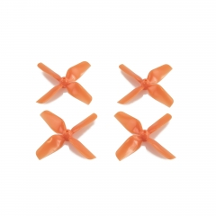 HQ Micro Whoop Prop 1.6X1.6X4 Orange (2CW+2CCW)-ABS-1.5MM Shaft