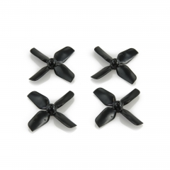HQ Micro Whoop Prop 1.2X1.3X4 Black (2CW+2CCW)-ABS-1.0MM Shaft