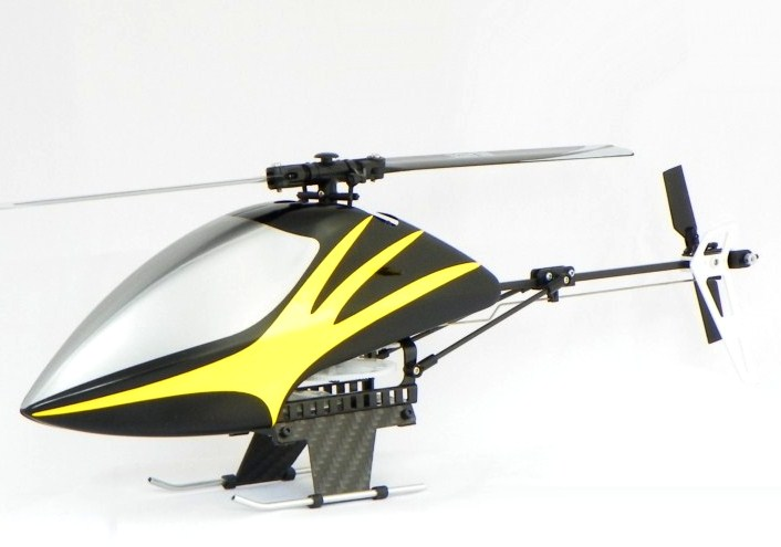 130-TDRX Canopy Kit (Black-Yellow)