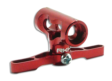 CNC AL Center Hub Set (Red) - Blade 130X