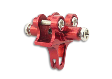 CNC AL Tail Boom Clamp (Red) - Blade 130X