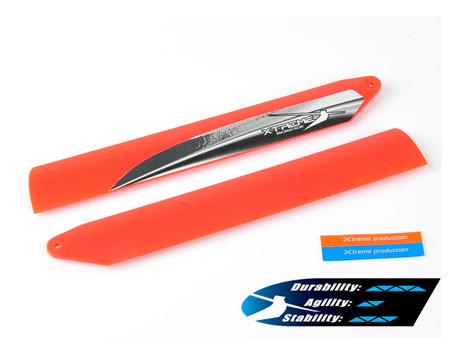 Xtreme Tough Main Blade (Red) - Blade 130X