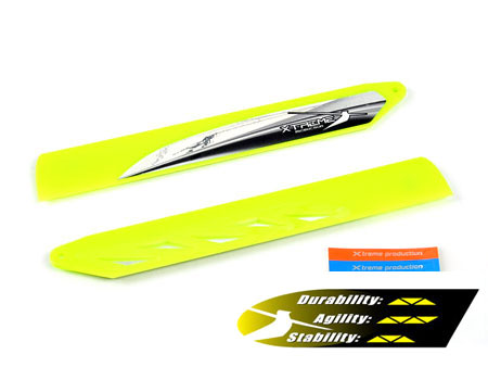 Xtreme Fast Response Main Blade (Yellow) -Blade 130X