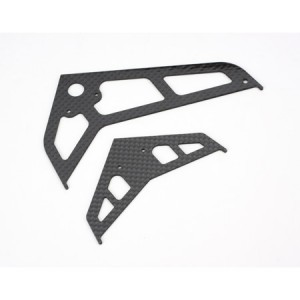 BLH1672C BLADE 450 Carbon Tail Fin Set