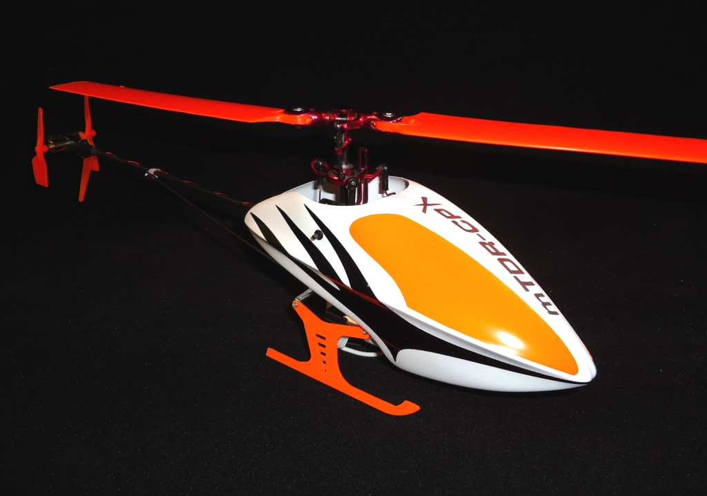 mTDR-CPX Canopy Kit (White-Orange) ep version