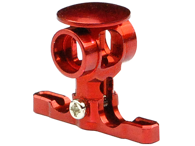 MH Precision CNC Aluminum Main Rotor Hub w/Button (RED)- BLADE M