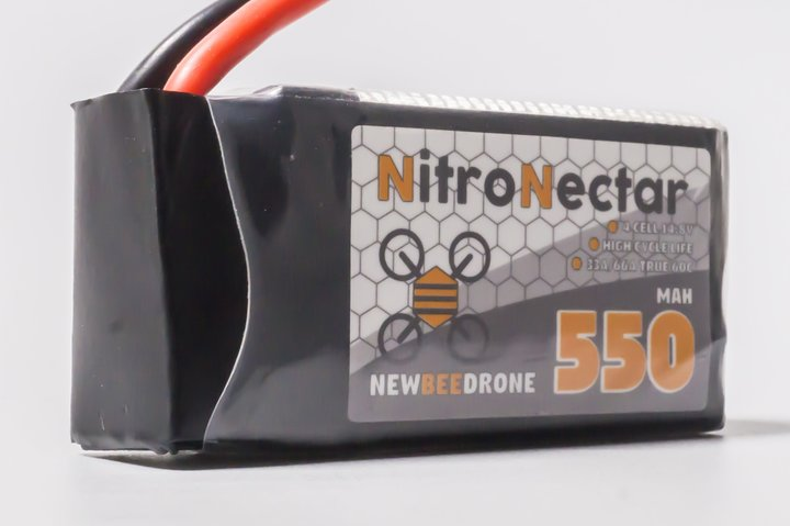 New Bee Drone Nitro Nectar 550mAh 3S LiPo Battery(XT30)