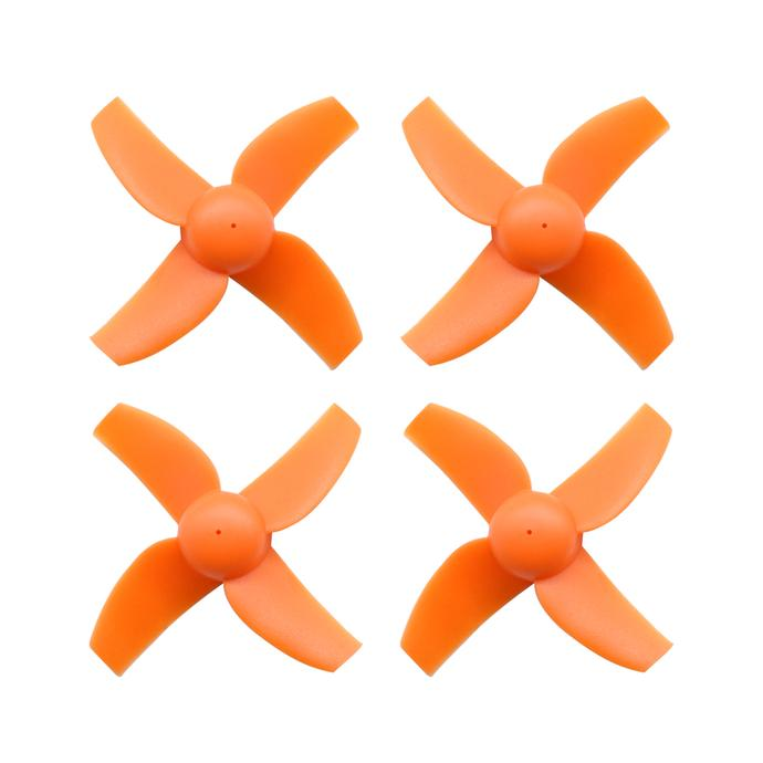 BETA FPV 40mm 4 Blade Tiny Whoop Propeller Set (Orange)