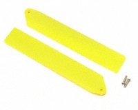 BLH3510YE Hi-Performance Main Rotor Blade Set Yellow w/Hdwe: mCP