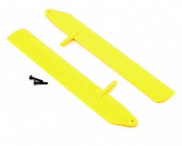 BLH3715YE Blade Fast Flight Main Rotor Blade Set , Yellow (130 X