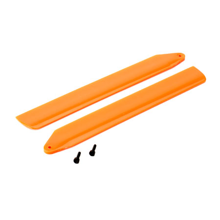 BLH3716OR Blade Hi-Performance Main Rotor Blade Set, Orange (130