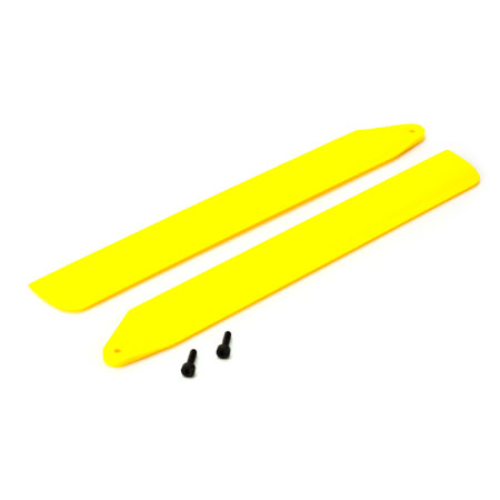 BLH3716YE Blade Hi-Performance Main Rotor Blade Set, Yellow (130