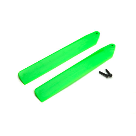 BLH3908GR Blade Green High Performance Main Blade Set: mCP X BL