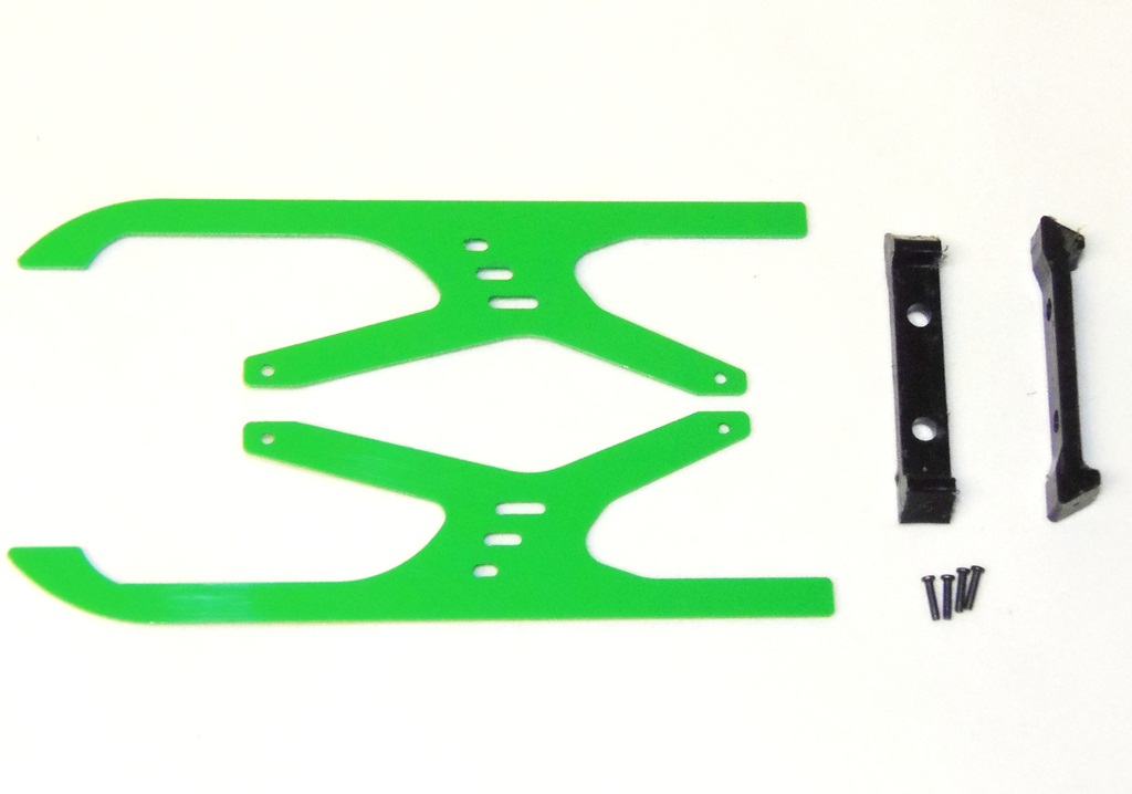 ep-models Collor Skid Set Green for 130X