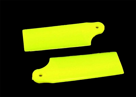 KBDD Extreme Edition Tail Blades (Yellow) for Blade 130X