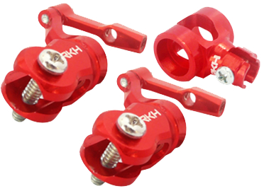 CNC AL DFC Head Set (Red) - Blade mCPXBL