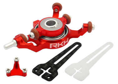 CNC AL Advanced Swashplate Set (Red) - Blade mCPXBL