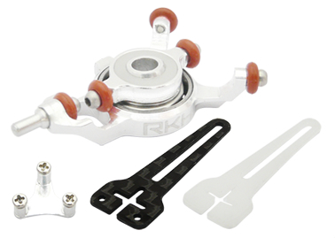 CNC AL Advanced Swashplate Set (Silver) - Blade mCPXBL