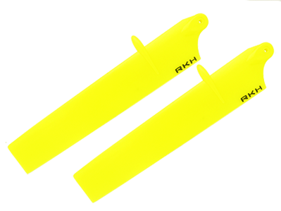 RKH Bullet Plastic Main Blade 114mm-Yellow - Blade mCPX BL