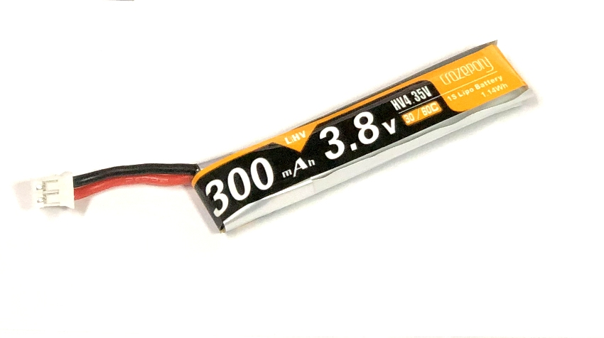 MF 300mAh 1S Lipo HV Battery 軽量バージョン