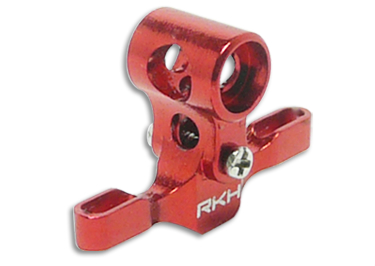 CNC AL Main Center Hub Set (Red) - Blade Nano CPX