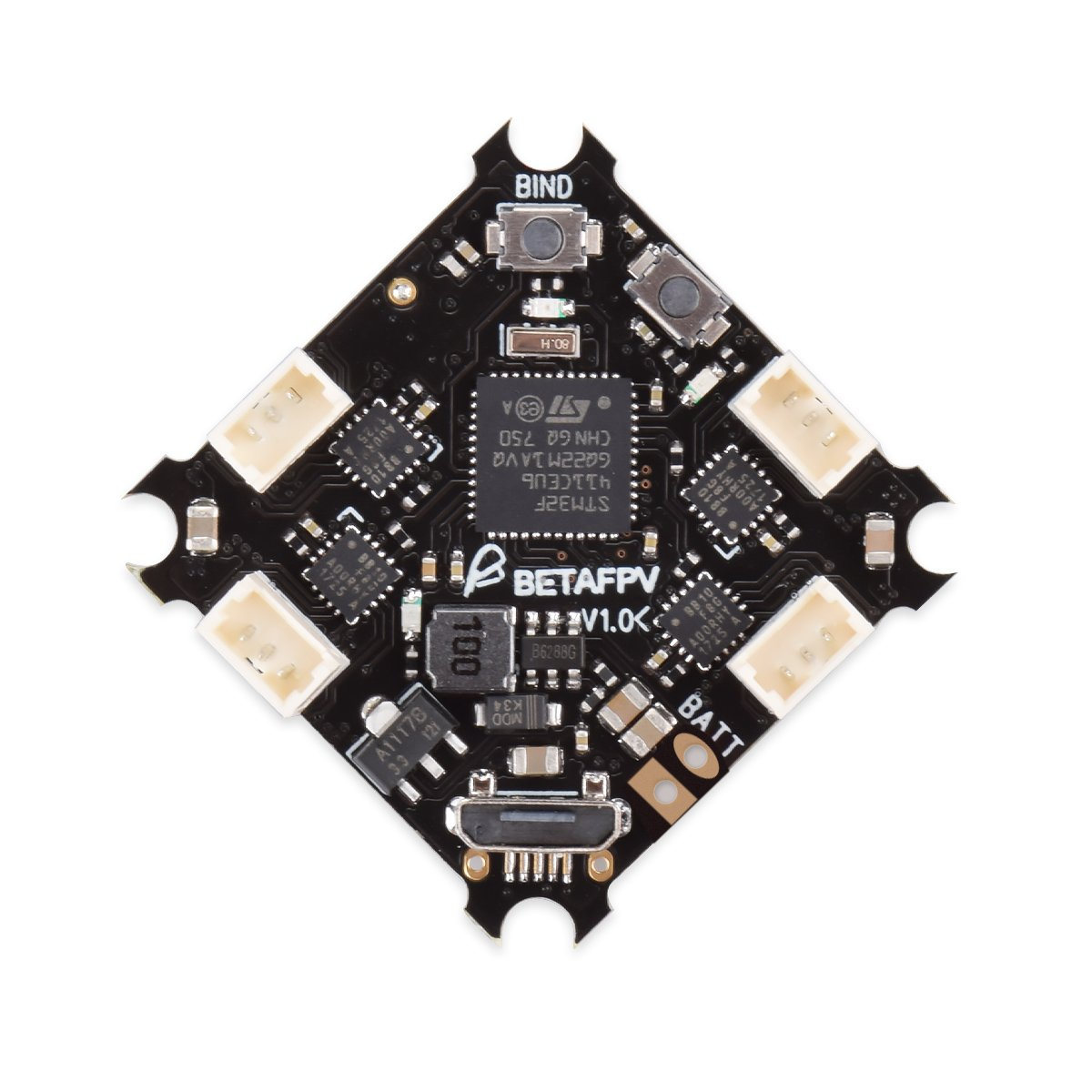 BETA FPV F4 1S Brushless Flight Controller (SFHSS RX+OSD)